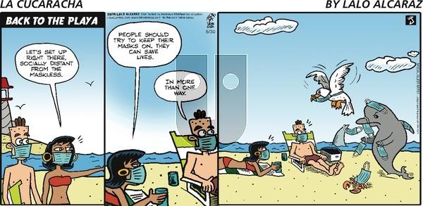 La Cucaracha on Sunday May 30, 2021 Comic Strip