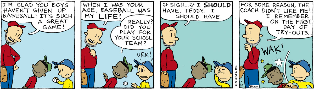 Big Nate Comic Strip for April 10, 2010