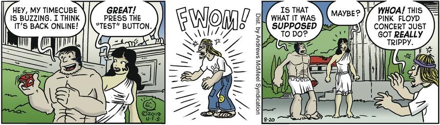 Alley Oop Comic Strip for August 20, 2019