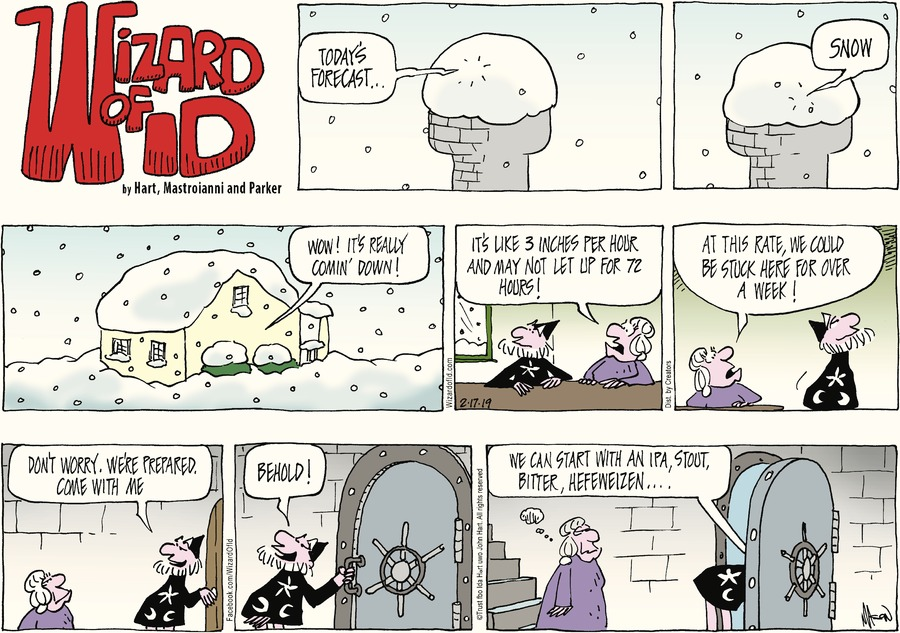 Wizard of Id Comic Strip for February 17, 2019