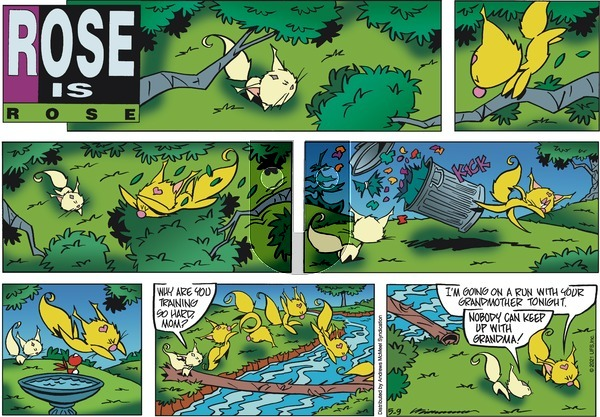 Rose is Rose on Sunday May 9, 2021 Comic Strip