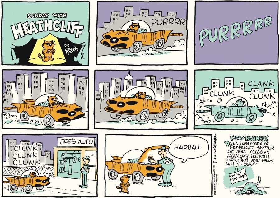 Heathcliff for Sep 22, 2013 Comic Strip