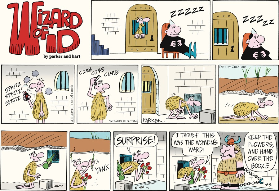 Wizard of Id for May 5, 2013 Comic Strip