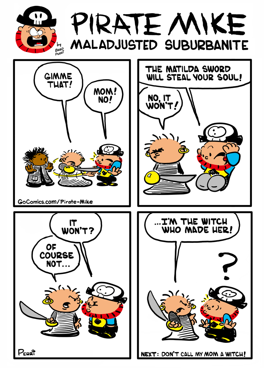 Pirate Mike Comic Strip for January 13, 2020