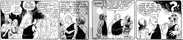 Alley Oop - Saturday February 4, 1939 Comic Strip