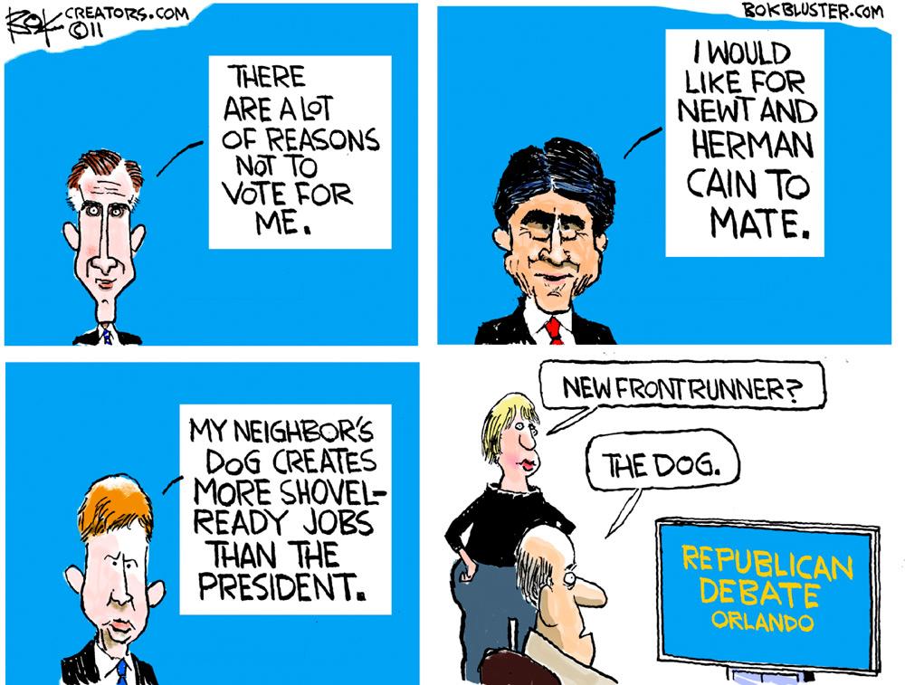 Chip Bok Comic Strip for September 23, 2011