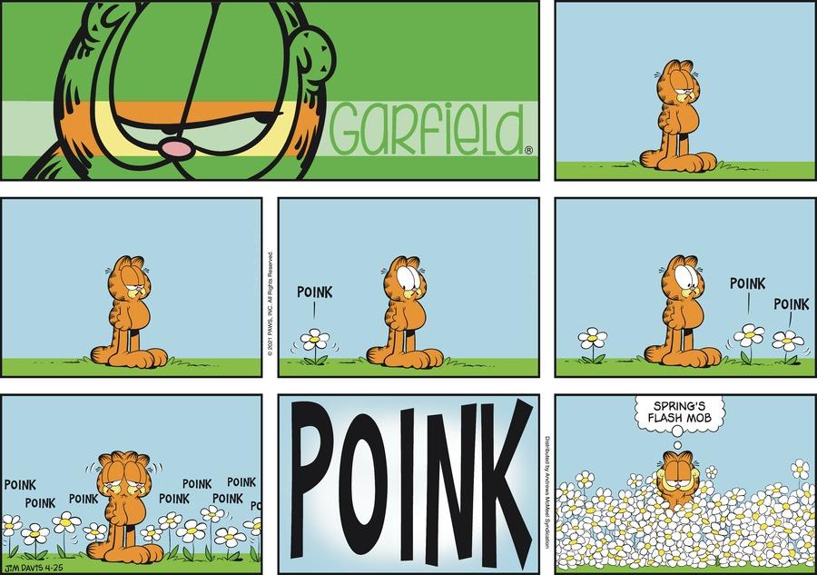 Garfield by Jim Davis on Sun, 25 Apr 2021
