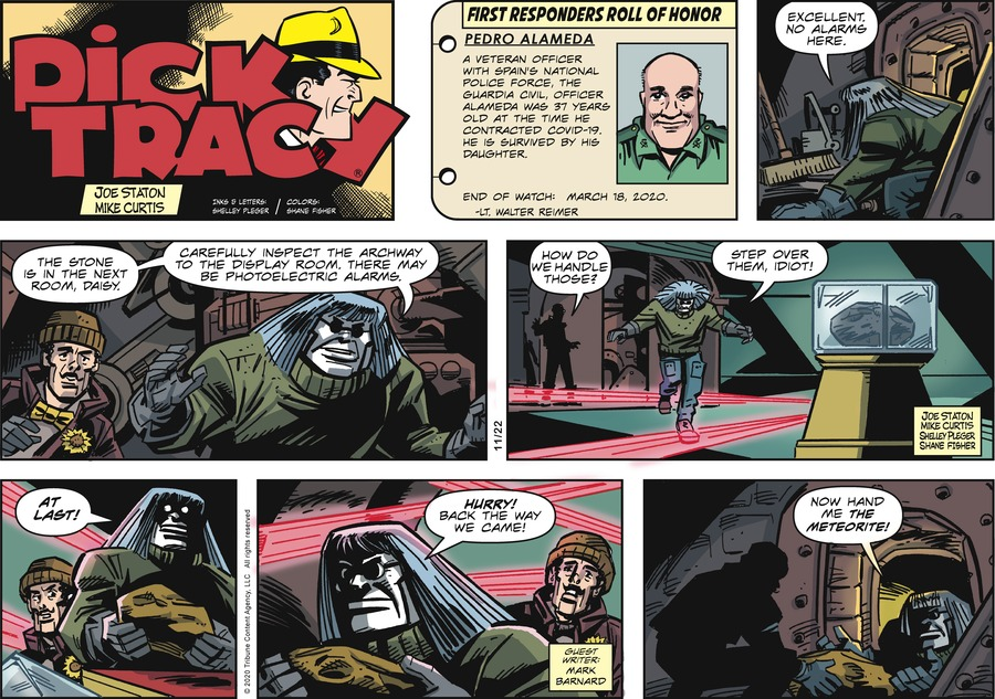 Dick Tracy by Joe Staton and Mike Curtis on Sun, 22 Nov 2020
