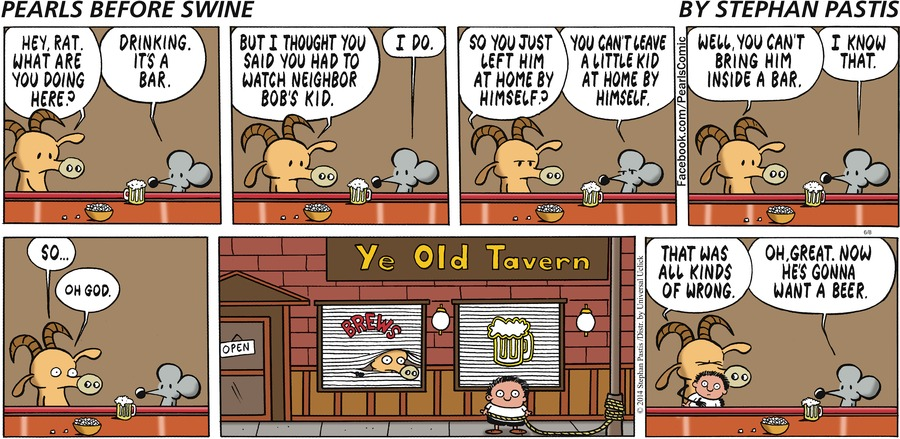 Pearls Before Swine Comic Strip for June 08, 2014