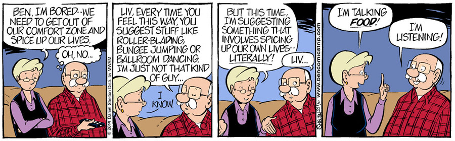 Ben for Apr 7, 2014 Comic Strip