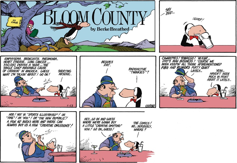 Bloom County Comic Strip for June 22, 2021