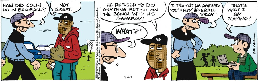 Edge City Comic Strip for March 29, 2020