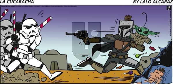 La Cucaracha - Sunday January 12, 2020 Comic Strip