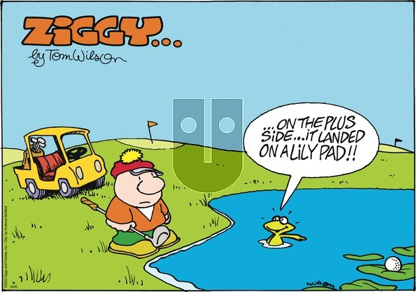 Ziggy on Sunday September 20, 2020 Comic Strip