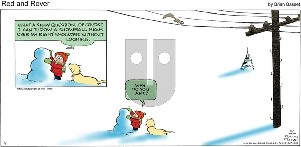 Red and Rover on Sunday January 5, 2020 Comic Strip