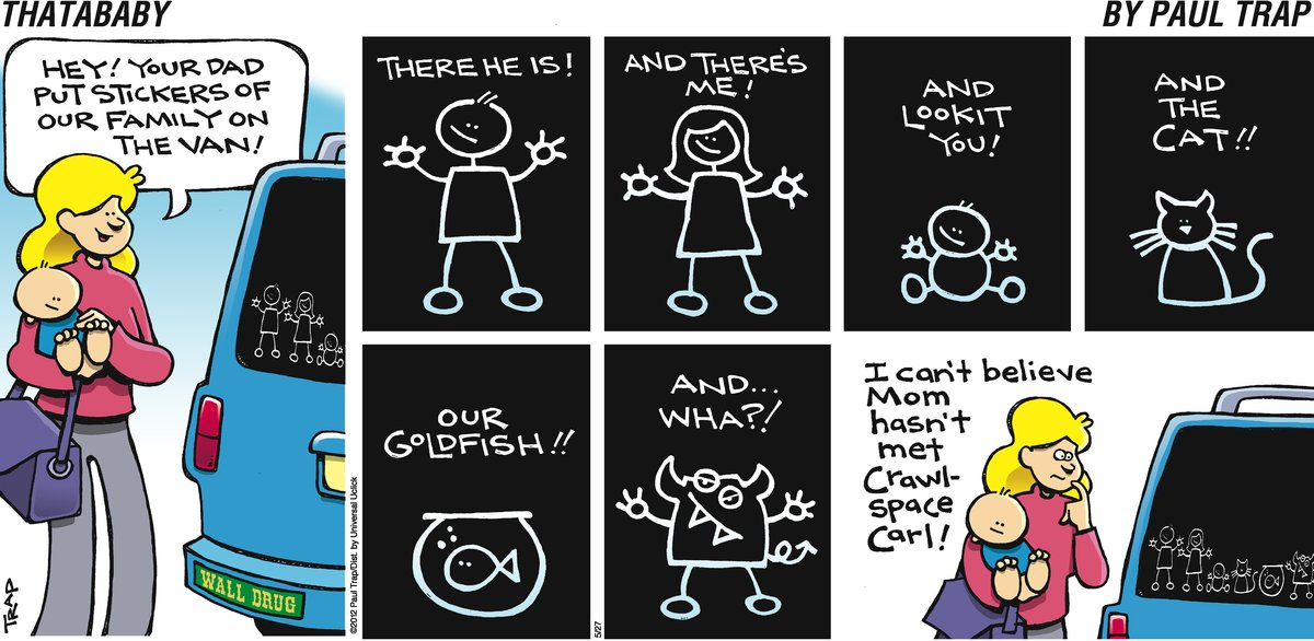 Thatababy for May 27, 2012 Comic Strip