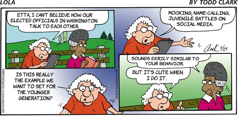 Lola Comic Strip for July 25, 2021