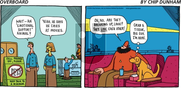 Overboard on Sunday June 10, 2018 Comic Strip