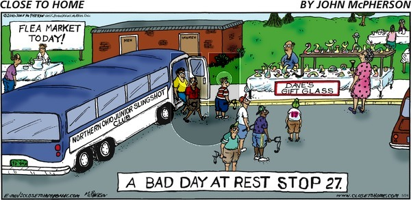 Close to Home on Sunday May 24, 2020 Comic Strip