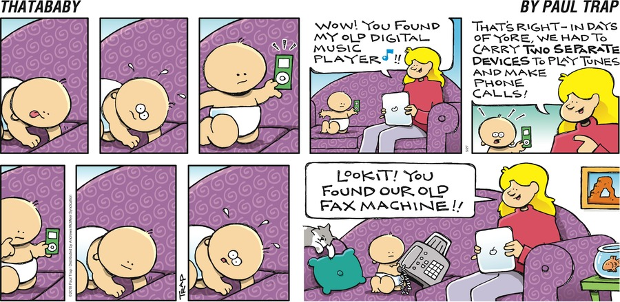 Thatababy for May 27, 2018 Comic Strip