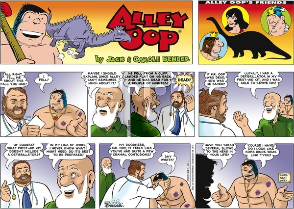 Alley Oop on Sunday December 23, 2018 Comic Strip