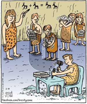Brevity on Saturday February 19, 2011 Comic Strip