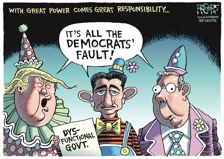 Rob Rogers Comic Strip for January 21, 2018