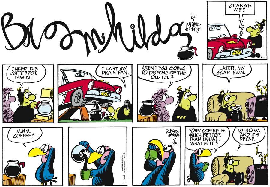 Broom Hilda by Russell Myers for May 26, 2019