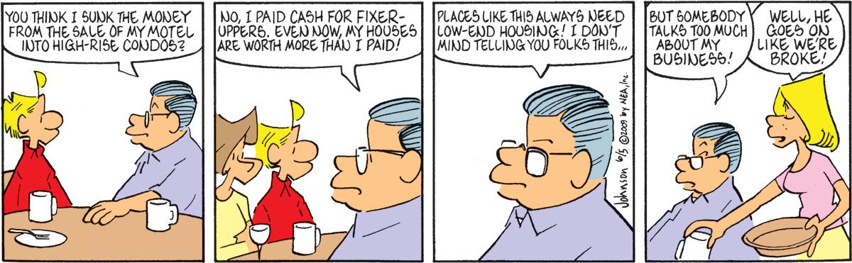 Arlo and Janis Comic Strip for June 05, 2009