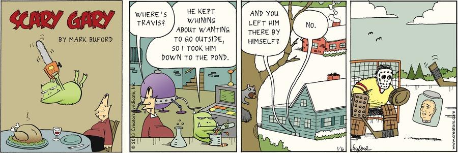 Scary Gary for Jan 6, 2013 Comic Strip