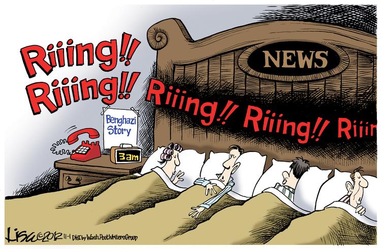 Lisa Benson Comic Strip for November 01, 2012