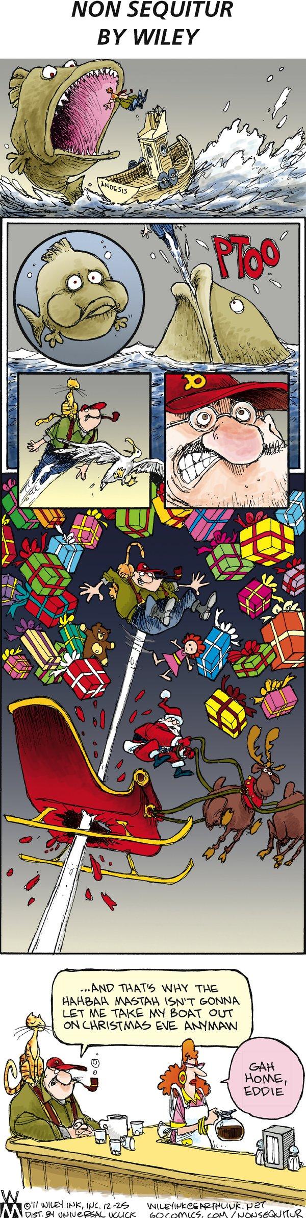 Non Sequitur Comic Strip for December 25, 2011