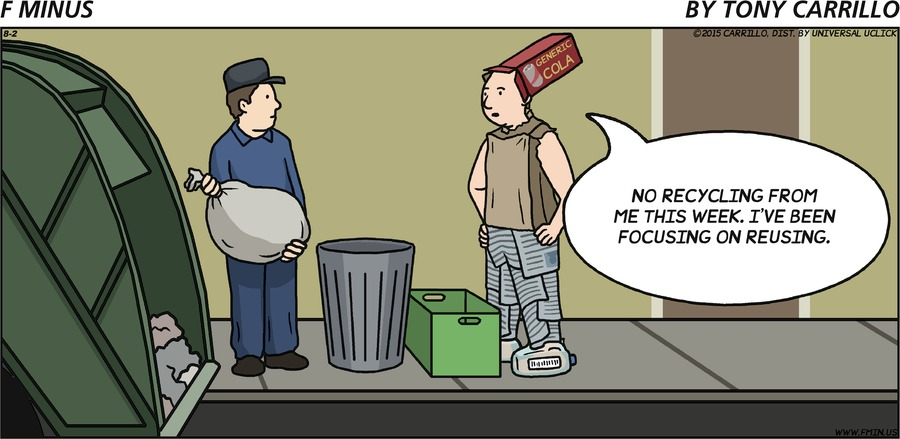 F Minus Comic Strip for August 02, 2015