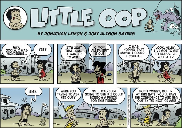 Alley Oop on Sunday January 5, 2020 Comic Strip