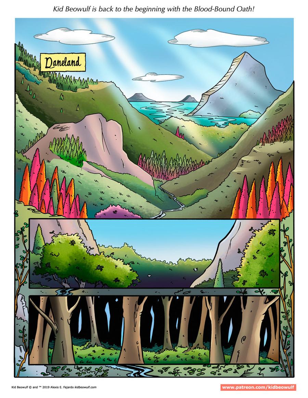 Kid Beowulf Comic Strip for January 02, 2019