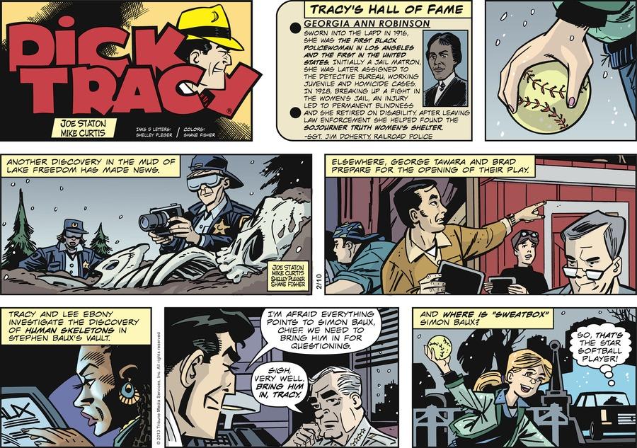 Dick Tracy for Feb 10, 2013 Comic Strip