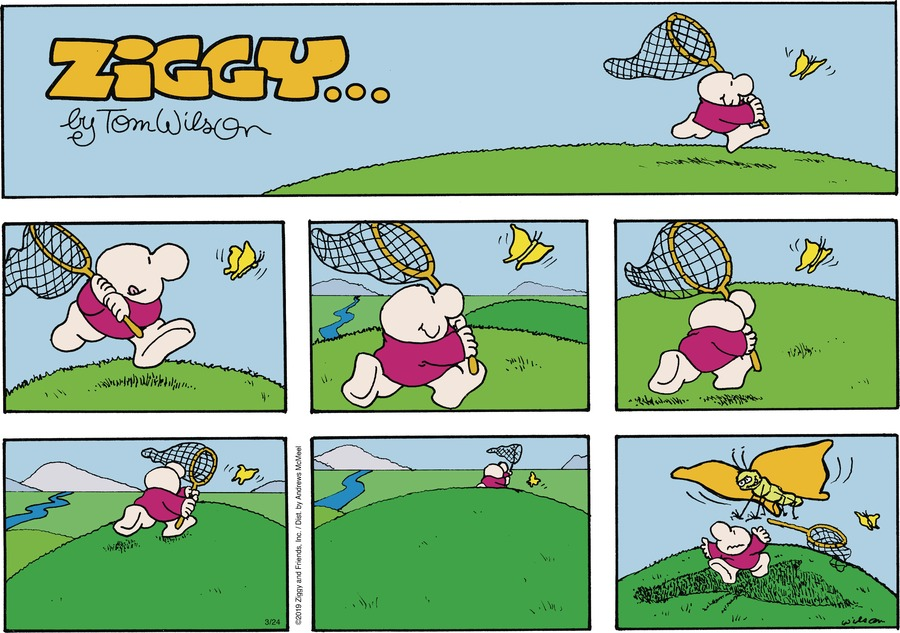 Ziggy Comic Strip for March 24, 2019
