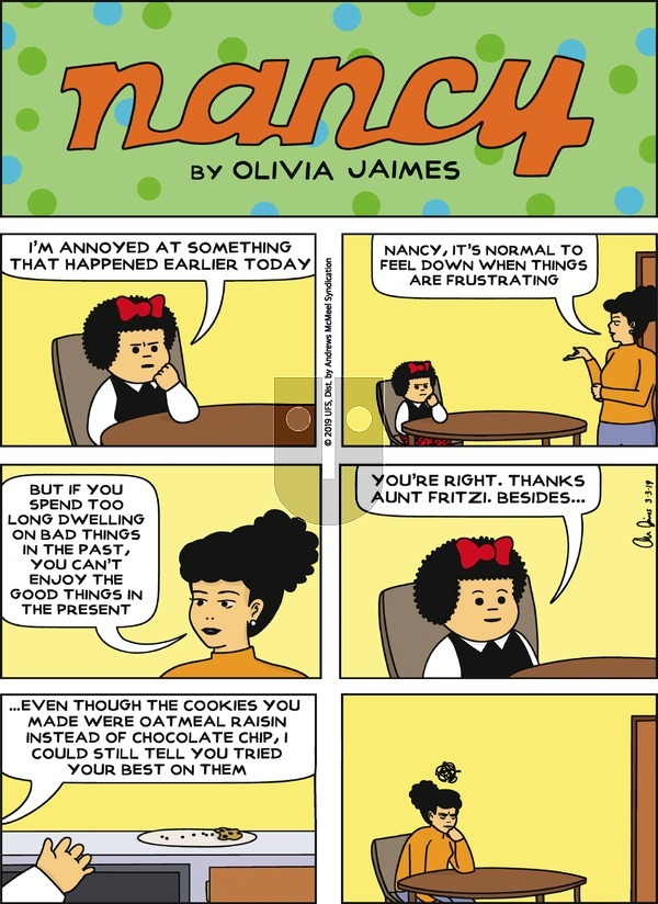 Nancy on Sunday March 3, 2019 Comic Strip