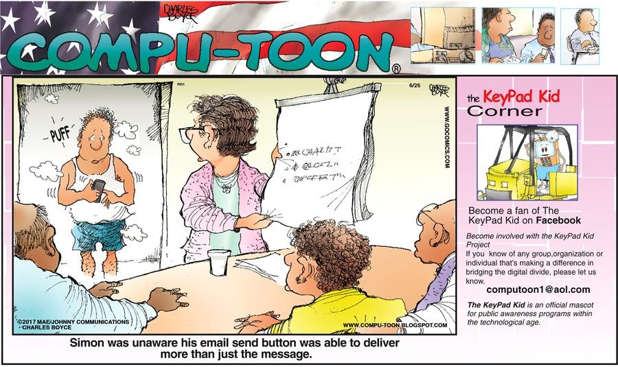 Compu-toon for Jun 25, 2017 Comic Strip