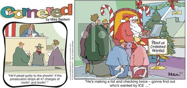 Cornered on Sunday December 2, 2018 Comic Strip