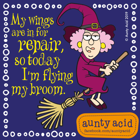 Aunty Acid by Ged Backland for May 12, 2019