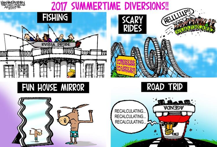 Walt Handelsman Comic Strip for July 23, 2017