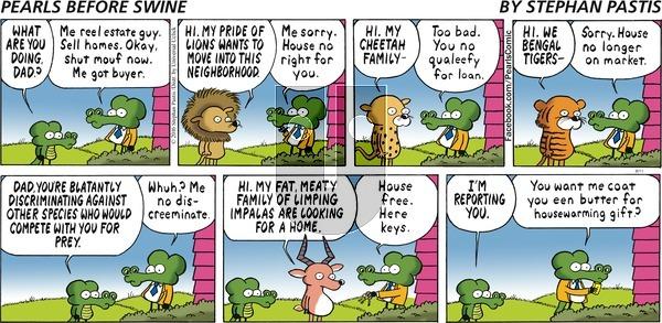 Pearls Before Swine on Sunday September 11, 2016 Comic Strip