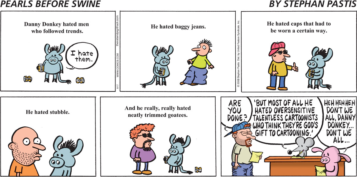 Pearls Before Swine Comic Strip for August 17, 2008