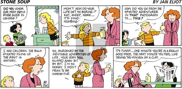 Stone Soup on Sunday August 5, 2001 Comic Strip