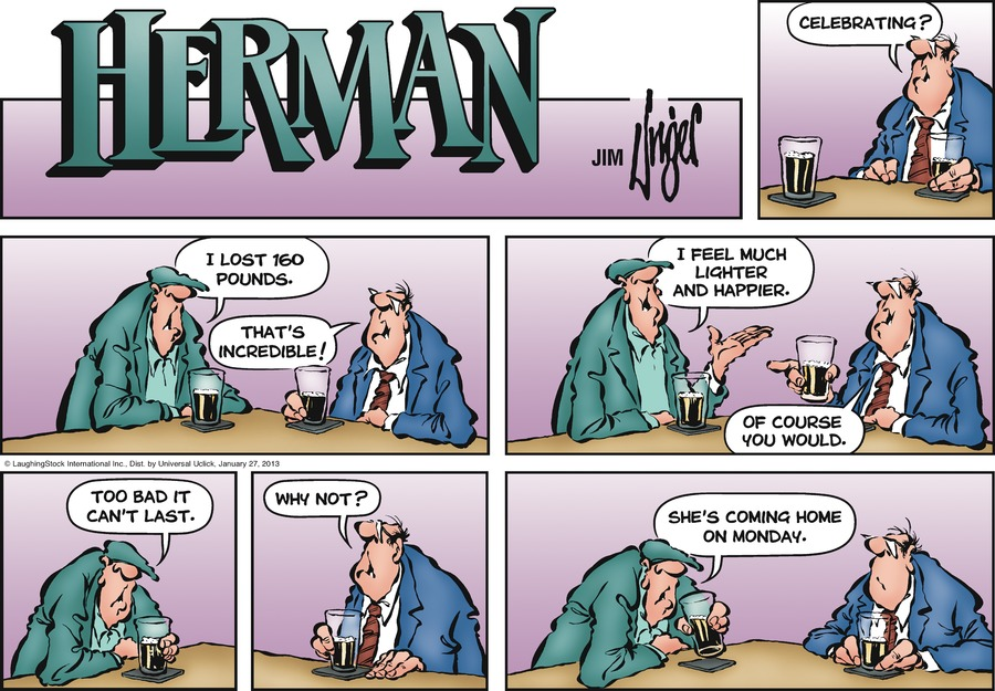 Herman for Jan 27, 2013 Comic Strip
