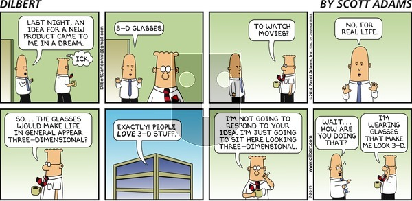 Dilbert - Sunday July 20, 2014 Comic Strip