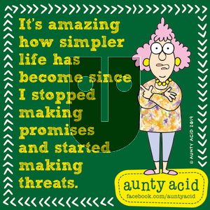 Aunty Acid on Monday September 30, 2019 Comic Strip