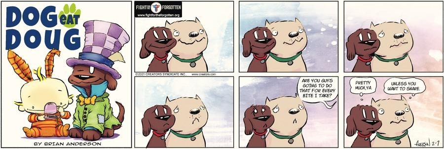 Dog Eat Doug by Brian Anderson on Sun, 07 Feb 2021