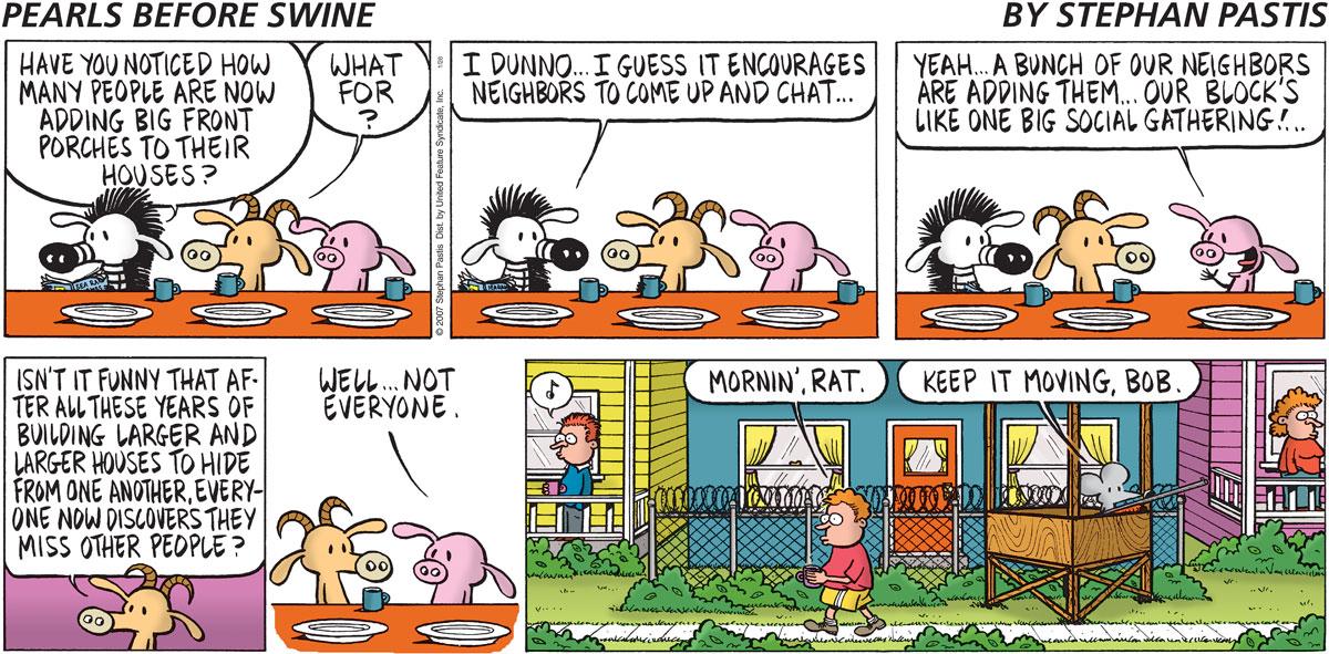 Pearls Before Swine Comic Strip for January 28, 2007